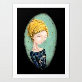 Emily Portrait Art Print