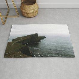 Neist Point Lighthouse II - Landscape Photography Rug