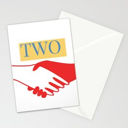 TWO Stationery Cards