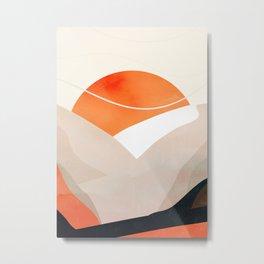 Minimalistic Landscape 16 Metal Print