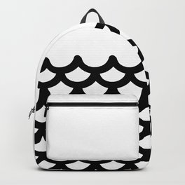 fish scale design Backpack
