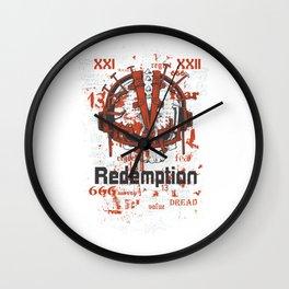 Redemption Reinforced Skull Wall Clock