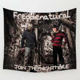 Freddienatural Wall Tapestry