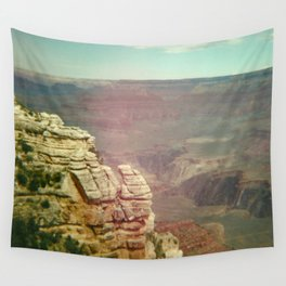 Tiny Man at the Grand Canyon Wall Tapestry