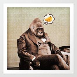 Gorilla My Dreams Kunstdrucke