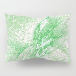 Splatter in Limeade  Pillow Sham