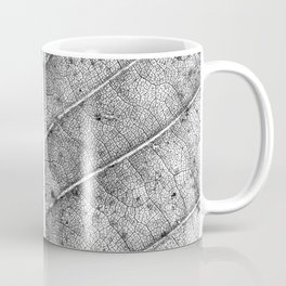 Abstract details of a big tree leaf Coffee Mug
