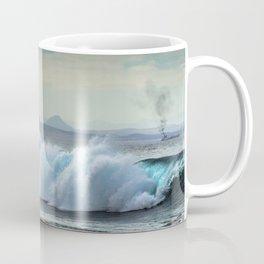 Wave Series Photograph No. 20 - The Blue Wave Coffee Mug