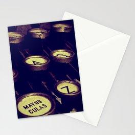 Maquina de palabras ( Machine words ) Stationery Cards