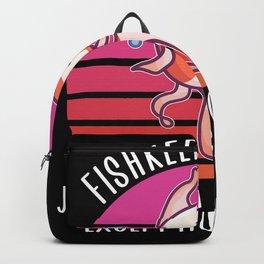 Fishkeeping mom Backpack
