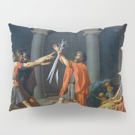 Oath of the Horatii by Jacques-Louis David Pillow Sham