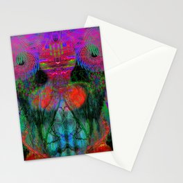 The Swirling Spirit of Creativity Stationery Cards