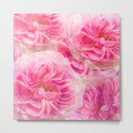 Roses In Pink Tones #decor #society6 #buyart Metal Print