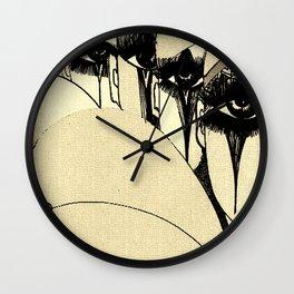PIERROT MULTIPLE CLOWNS,,HOUSE OF HARLEQUIN Wall Clock