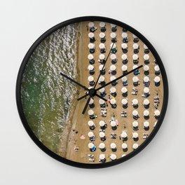 Summer patterns Wall Clock