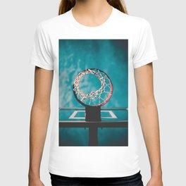 basketball hoop 6 T-shirt