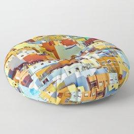 Las Palmas de Gran Canaria, Spain Floor Pillow