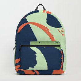 Distressed Vector Patterns Backgrounds II Backpack