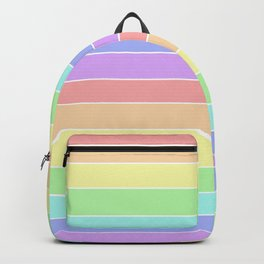 colorful stripes - colorful rainbow Backpack