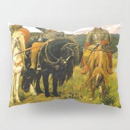 Viktor Vasnetsov Bogatyrs Warrior Knights Pillow Sham
