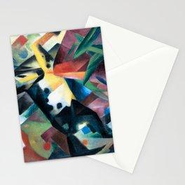 Franz Marc - Springendes Pferd - Jumping Horse - Springing Horse Stationery Cards