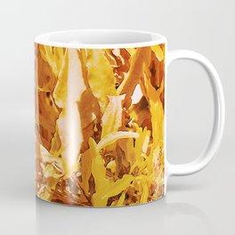 Yellow Garden Flowers Coffee Mug