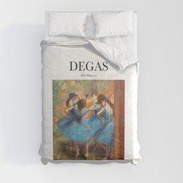 Degas - Blue Dancers Comforters
