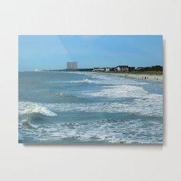 Beach Landscape Metal Print