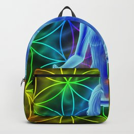 FLOWER OF LIFE - SACRED GEOMETRY Backpack