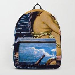 Soul In Bondage, 1896 - Elihu Vedder Backpack