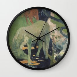 The White Horse Wall Clock