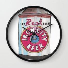 Vintage Beer 2 Wall Clock