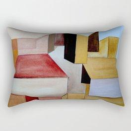 La Ciudad Ocre Rectangular Pillow