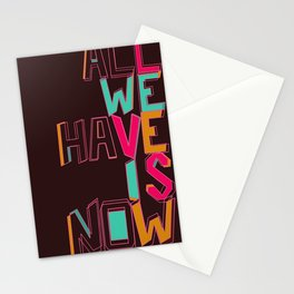 Only Now Stationery Cards
