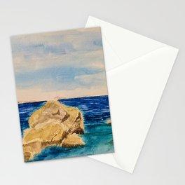 Praia de Area Grande Stationery Cards