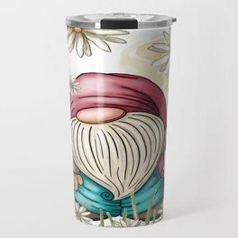 Hippie Gnome Travel Mug
