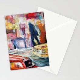 NY street Stationery Cards