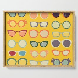 Sunny 50s Retro Glasses Serving Tray
