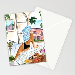 A Peaceful Morning Stationery Cards