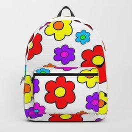 Pop Flowers Backpack