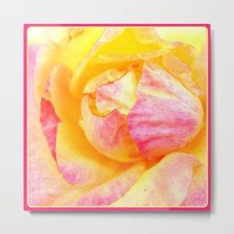 Tropical Rose | Nadia Bonello Metal Print