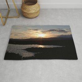 Watercolor Sunset, Janes Island 16, Maryland Rug