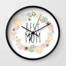 Best Mom Wall Clock