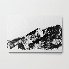 Mountains I Metal Print