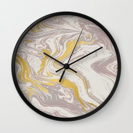 Marble Texture Surface 55 Wall Clock