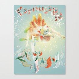 bjork cornucopia tour 2020 2021 tulip Canvas Print