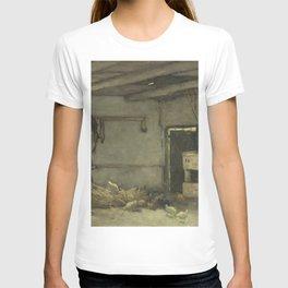 Stalinterieur 1895 By Johan Hendrik Weissenbruch | Reproduction T-shirt