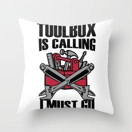 Craftsman Gift Idea Throw Pillow