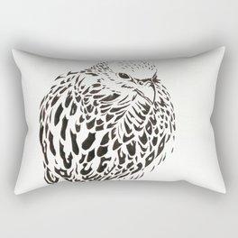 Gyrfalcon (Falcon) Rectangular Pillow