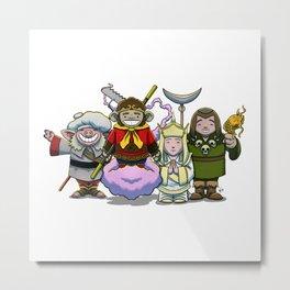 Monkey Magic Crew! Metal Print